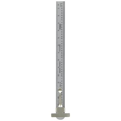 Fowler Full Warranty 52-380-100-0 Pocket Steel Inch Metric Series Rule 1mm 64ths Graduation Interval 6 L x 0.470 W x 0.021 Thick Construction Rulers Office Products B00B5KC0JS
