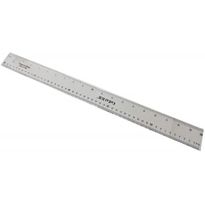 Utoolmart Straight Ruler 50cm Metric Plastic Clear Measuring Tool 1 pcs - - B082MJHM45