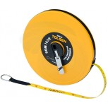 50M 165FT Constriction Imperial Metric Fiberglass Measuring Tape Reel - - B0768B84XK