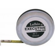 Crescent Lufkin 1 4 x 8' Executive Thinline Yellow Clad Pocket Tape Measure - W608 - Tape Measures - B00002NB81
