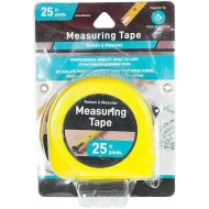 Jacent Tape Measure - Professional Quality 25-Foot Measuring Tape with Magnetic Tip - 1 Pack - - B07XLTVZ2W