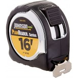 Johnson Level & Tool 1819-0016 16-Foot Plan Reader Power Tape Black Silver - Tape Measures - B0057BF2PU