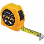Komelon 4912IM 12 Pack 12ft. The Professional Tape Measure Yellow Office Products B010M1T26E