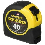 Stanley Tools FatMax 33-740 40-Foot Tape Rule with BladeArmor Coating black; Yellow - Tape Measures - B000VSKOWA