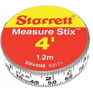 Starrett Measure Stix SM44ME - Steel Measuring Tape Tool 1 2 x 4' with Permanent Adhesive Backing Mount to Work Bench Saw Table Drafting Tables and More Cut Down to Needed Size Office Products B0025Q0KAC