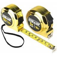 Steve&Leif 2 Pack Measuring Tape16Foot and 12Foot Retractable Tape Measure Easy To Read Metric and Imperial Measuring Tape Shock Absorbent Case Measurement Tape Engineers Tape Measure - - B07ZJ736BQ