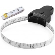 Tape Measure Body Measuring Tape 60inch 150cm Lock Pin & Push Button Retract Ergonomic Design Durable Measuring Tapes for Body Measurement & Weight Loss Accurate Sewing Tape Measure 2 Pack Office Products B085XP7GPH