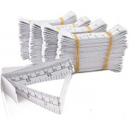 WIN TAPE 1 Meter 40 Paper Tape Measure Wound Measuring Rulers Educare Used Measuring Babies Head Disposable Pack of 100 - - B00X53MIR2
