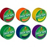 Duck Heavy Duty Duct Tapes Assorted Colors 6 Rolls/Pack DUCKRNBW6PK-STP QU25751162
