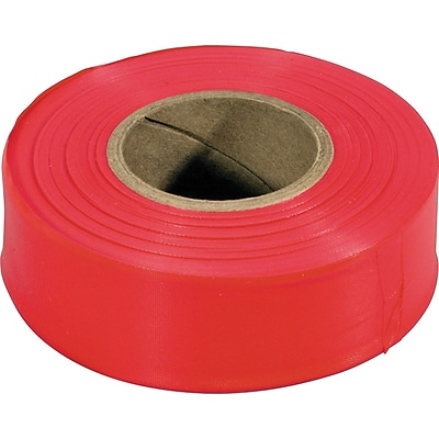 Irwin Strait-Line 300\'L Red Flagging Tape QU85384253