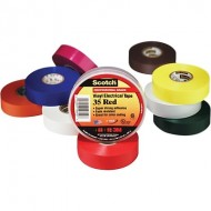 Scotch® 7mL Brown Vinyl Electrical Coding Color Tape  QU18513443
