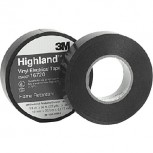 Scotch® Highland™ Vinyl Commercial Grade Electrical Tape Black 66\' QU26273355