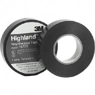 Scotch® Highland™ Vinyl Commercial Grade Electrical Tape Black 66'  QU26273355