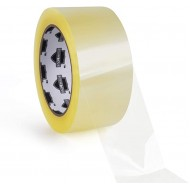 2 x 55 Yards 165 Feet Shipping Packaging Tapes - Clear - 1.8 Mil Thick - Pack of 6 Rolls + Free 2-Inch Dispenser Office Products B00EI80EDS