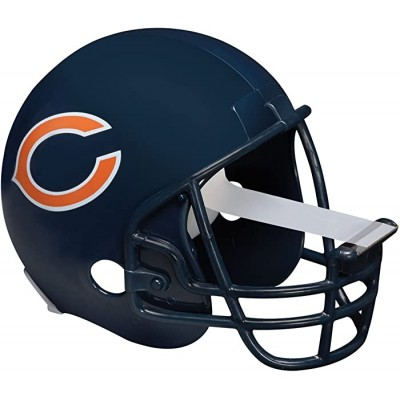 Scotch Magic Tape Dispenser Chicago Bears Football Helmet with 1 Roll of 3 4 x 350 Inches Tape Clear Tape Dispensers Office Products B00F3JZIPK