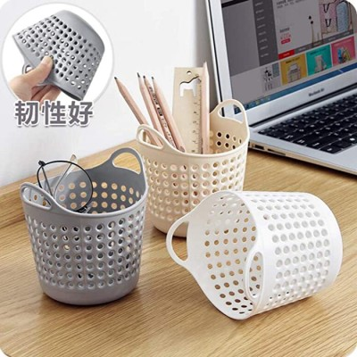 Plastic Desktop Storage Basket Mini Debris Storage Basket Office Stationery Storage Small Basket Storage Basket Office Products B07P2MWFCS