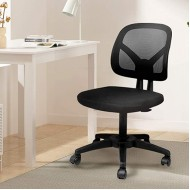 HBADA Office Chair Mesh Desk Task Chair Ergonomic Computer Chair with Adjustable Height for Adults and Kids Black Office Products B08CN11GNP