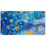 Laptop Desk Mat Office Desk Pad Blue Space Universe with Star Pattern Cloud Desk Mats on Top of Desks Large Desk Pad Protector for Office Work Home Decor 16 X 30 inches Office Products B08H22WJ8R