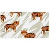 Laptop Desk Mat Office Desk Pad Siberian Tiger Organism Tiger Animal Face Desk Mats on Top of Desks Large Desk Pad Protector for Office Work Home Decor 16 X 30 inches Office Products B08H22HB9B