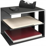 Victor Midnight Desk Shelf 13.5 x 13.5 x 10.5 Matte Black Office Products B004FR30II