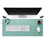 Zoohoo Oversized 31.5x15.7 Artificial Leather Desk Pad - Non-Slip Smooth Mouse Pad Writing Desk Mate Protective Mat for Office Home School Gaming Working Mint Green Office Products B07BMZFLQZ