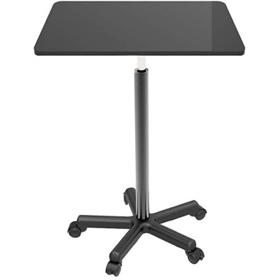 Adjustable Laptop Bed Desk Mobile Lifting Table Computer Home Bedside Table Sofa Student Writing Desk Office Standing Work Desk for Home Office Color Black Size 60x39cm Office Products B08HQ5LNHC