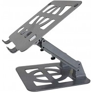 Cylficl Laptop Cooling Bracket Folding Portable Lifting Bracket Desktop Increased Office Shelf Base Color Gray Office Products B082ZF5WQC