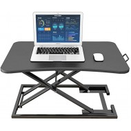 KFXL Laptop Table Computer Foldable Laptop Desk - Stand-up Laptop Desk Desktop Monitor Lift Stand Stand with Office Desk 75x50cm Bedside Computer Table Color A Office Products B07WL7GPXT