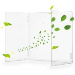 LSR Children's Sneeze Guards U Shape Sneeze Guard Protective Acrylic Shield Wall Clear Desk Panel Barrier School Students Classroom Desk Partition Office Sneeze Divider Screen Office Products B08F8SN4TX