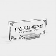 Personalized Desk nameplate Desk Decor Men Office Acrylic Holder Office Supply Acrylic Sign Coworker Gift Teacher Secretary - Men Gift 8x3 Office Products B08HKLNCVD