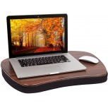 Sofia + Sam Oversized Memory Foam Lap Desk for Laptops - Portable Home Office Stand - Couch Bed Table TV Tray for Food - Fits Computers Up to 17 Inches - Table - Stand - Great for Working from Home Office Products B013J7NI5Y