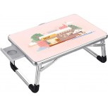 SuoANI Portable Folding Computer PC Laptop Table Bed Desk Home Office Furniture Office Products B083BNDNDK