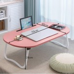 YRRC Foldable Lap Desk High Temperature Resistance Dormitory Bed Computer Desk Writing Table with Foldable Legs Suitable for Home School Office Office Products B08CZT17TG