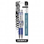 Ballpoint Pen Retractable Fine Blue PK2 ZO62885174