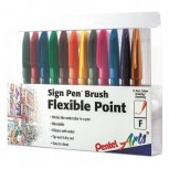 Pen Brush Flex Point Ast PK12 ZO85556446