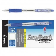 Retractable Pen Medium 1.0 mm Blue PK12 ZO67382476