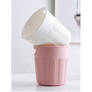 Aouiopkio Zruixia-ljit Trash Can Trash Can Wastebasket Bin for Bathroom Office Bedroom Living Room Color Pink Office Products B08H545TDC