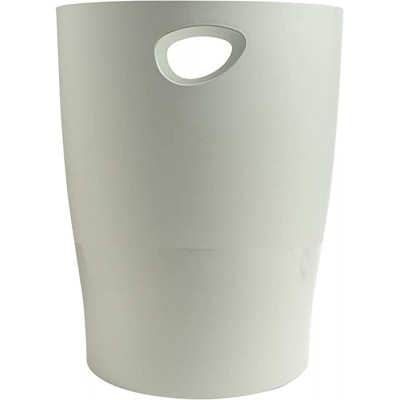 Exacompta Office Ecobin Waste Paper Bin - Grey Office Products B012V5BSN4