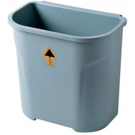 GAKIN 1 Pc Office Garbage Bin No Lid Trash Can Plastic Storage Wastebasket Office Products B08JQ616M8