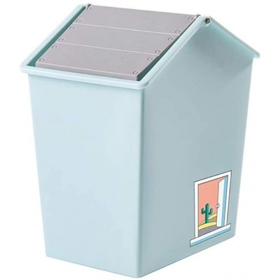 GAKIN 2Pcs Desktop Mini Trash Can Waste Basket Storage Box Household Office Desk Small Dustbin Office Products B08JQ9FSMZ