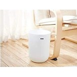 RYYAIYL Trash Cans Plastic Wastebasket Dustbin Powder Rooms Kitchens Home Offices Kids Rooms Bathroom Dorm Room Apartment Bedroom White Office Products B085MQY84K