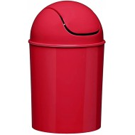 Umbra Mini Waste Can 1-1 4 Gallon with Swing Lid Red Office Products B0777QM858
