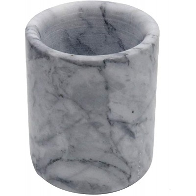 YCD Ziran Marble Candle Holder Candle Stick Holder Candle Cups Office Gifts Desktop MarbleGrey 8x8x10cm Office Products B07M7S4GKC