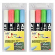 Bistro Chalk Markers Broad Tip Set of 4 PK2 ZO15177471