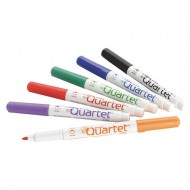 Dry Erase Marker Fine Tip Assorted Colors PK6 Low Odor ZO63378662