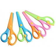 LovesTown Preschool Training Scissors 4Pcs Children Safety Scissors Pre-School Training Scissors Safety Scissors Art Craft Scissors B0721MS67V