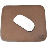 Thick Leather Durable Mouse Pad Office Essentials Handmade by Hide & Drink Bourbon Brown Office Products B07CZR2RPY