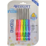 "Westcott School Left and Right Handed Kids 5"" Scissors Blunt 6 Pack 16454 Office Products B06XPT1LJQ"